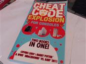 BRADY GAMES Guide/Material CHEAT CODE EXPLOSION FOR HANDHELDS CHEAT CODE BOOK